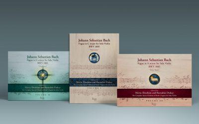 Megjelent J. S. Bach három szólóhegedű fúgájának Tricentenáriumi összkiadása