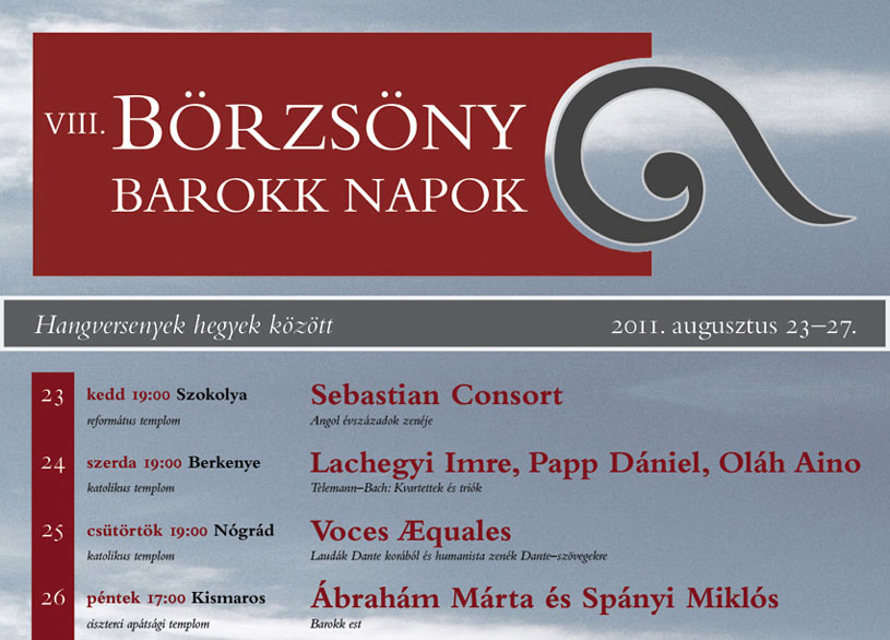 Börzsöny Baroque Days