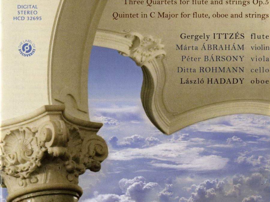 Hungaroton CD 2011 – Werke von L. Boccherini